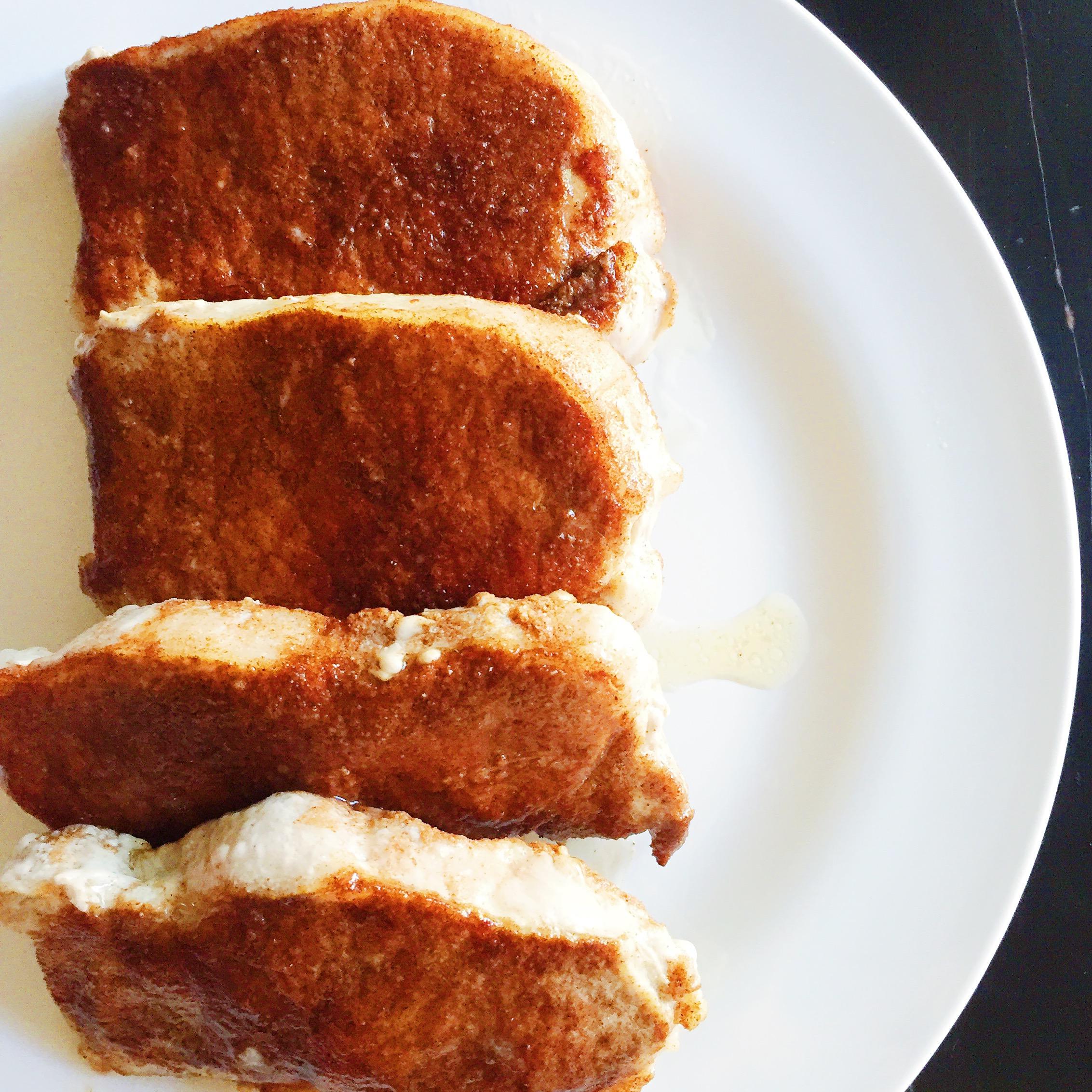 Cinnamon Ginger Pork Chops