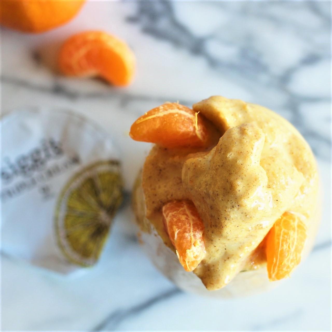 spiced citrus cream slushie