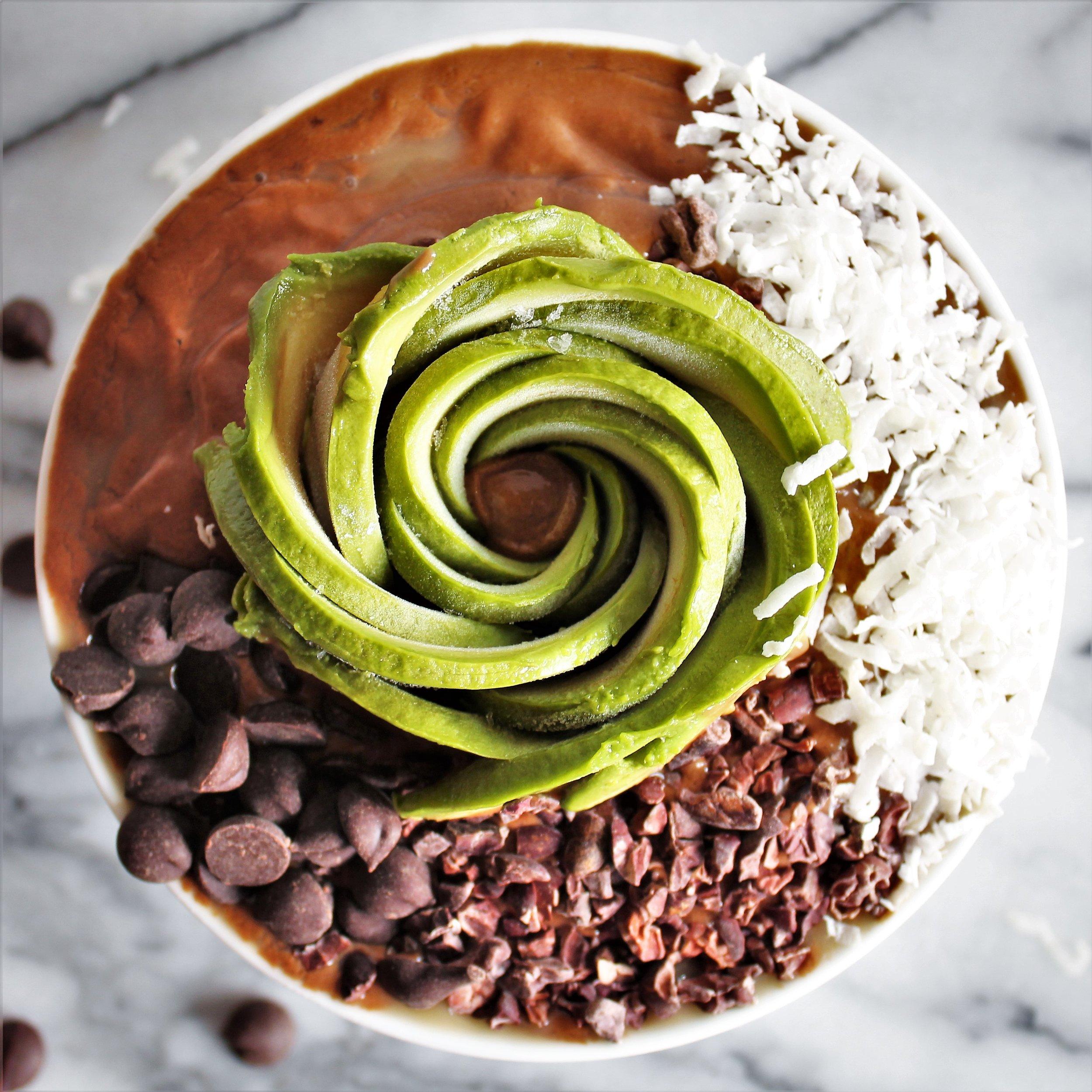 avocado frozen hot chocolate