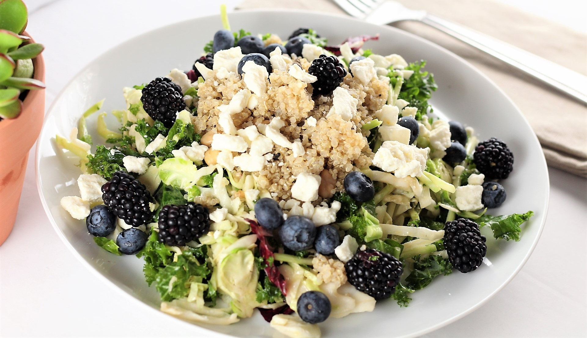 Grains & Berries Summer Salad