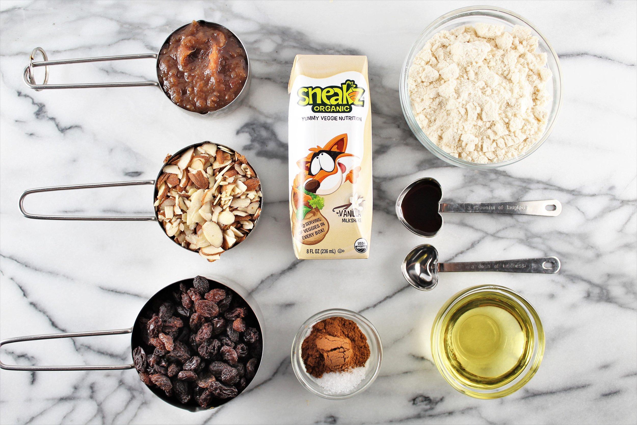 cinnamon raisin crumble bars