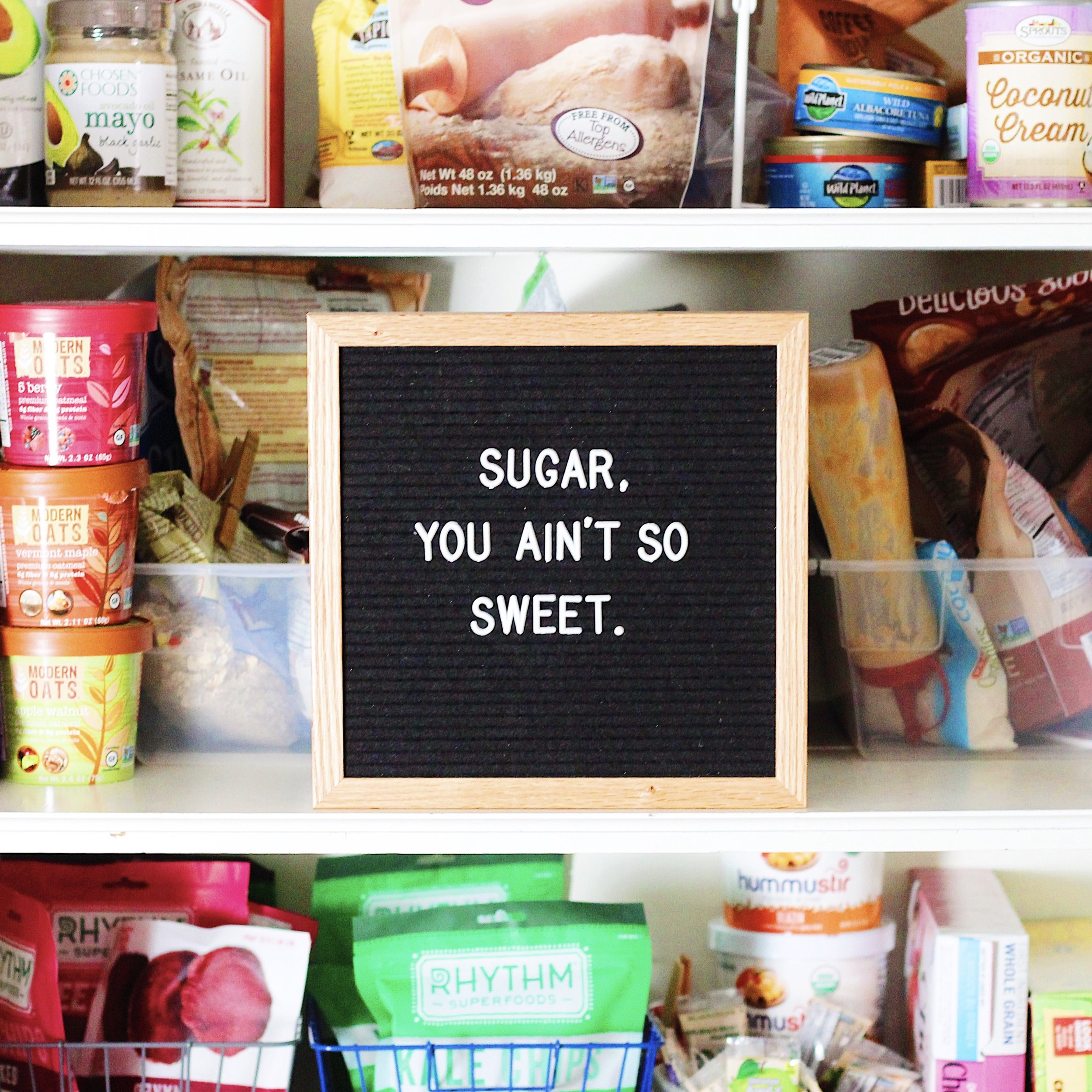 how to break up with added sugar
