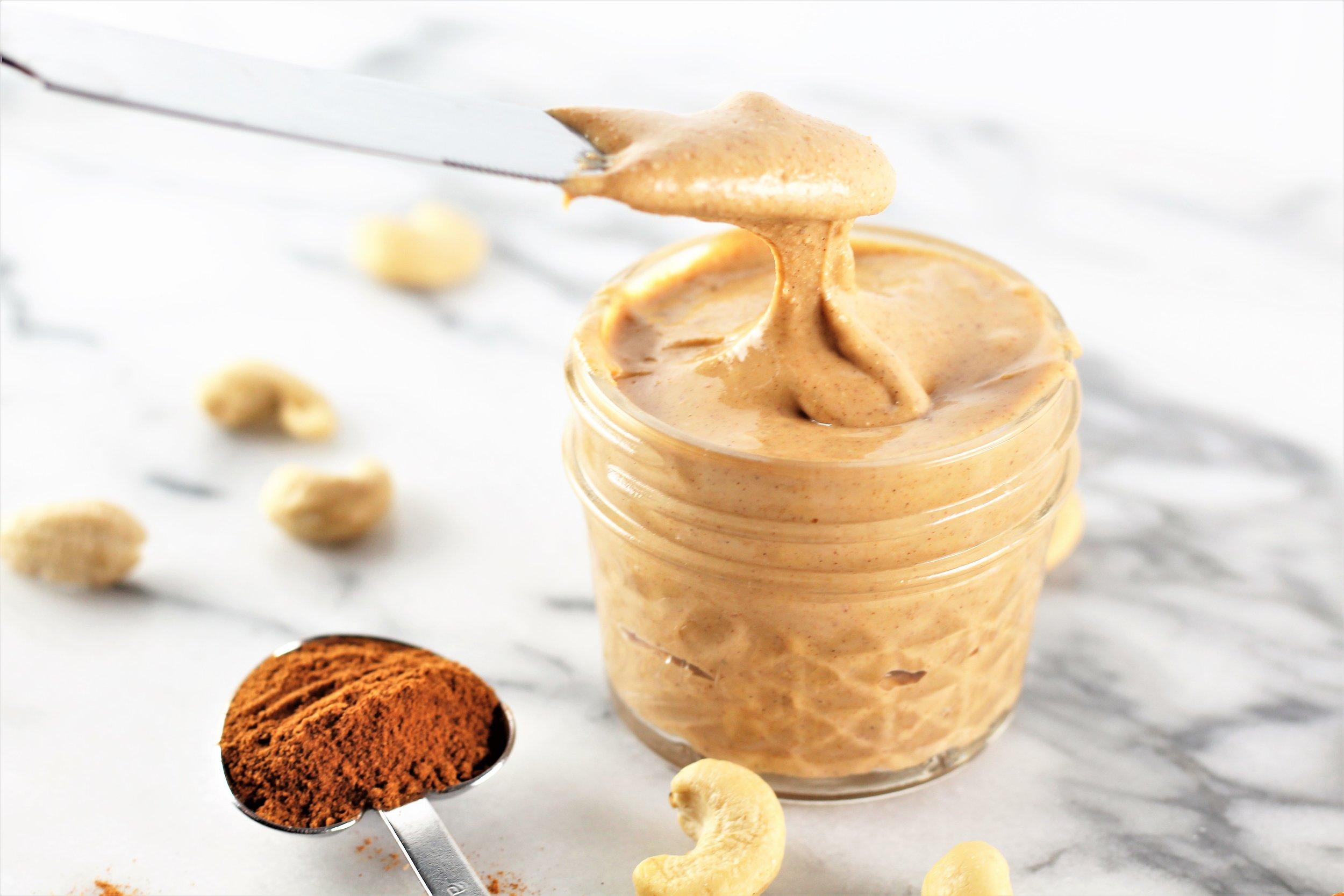Pumpkin Spice Roasted Cashew Butter