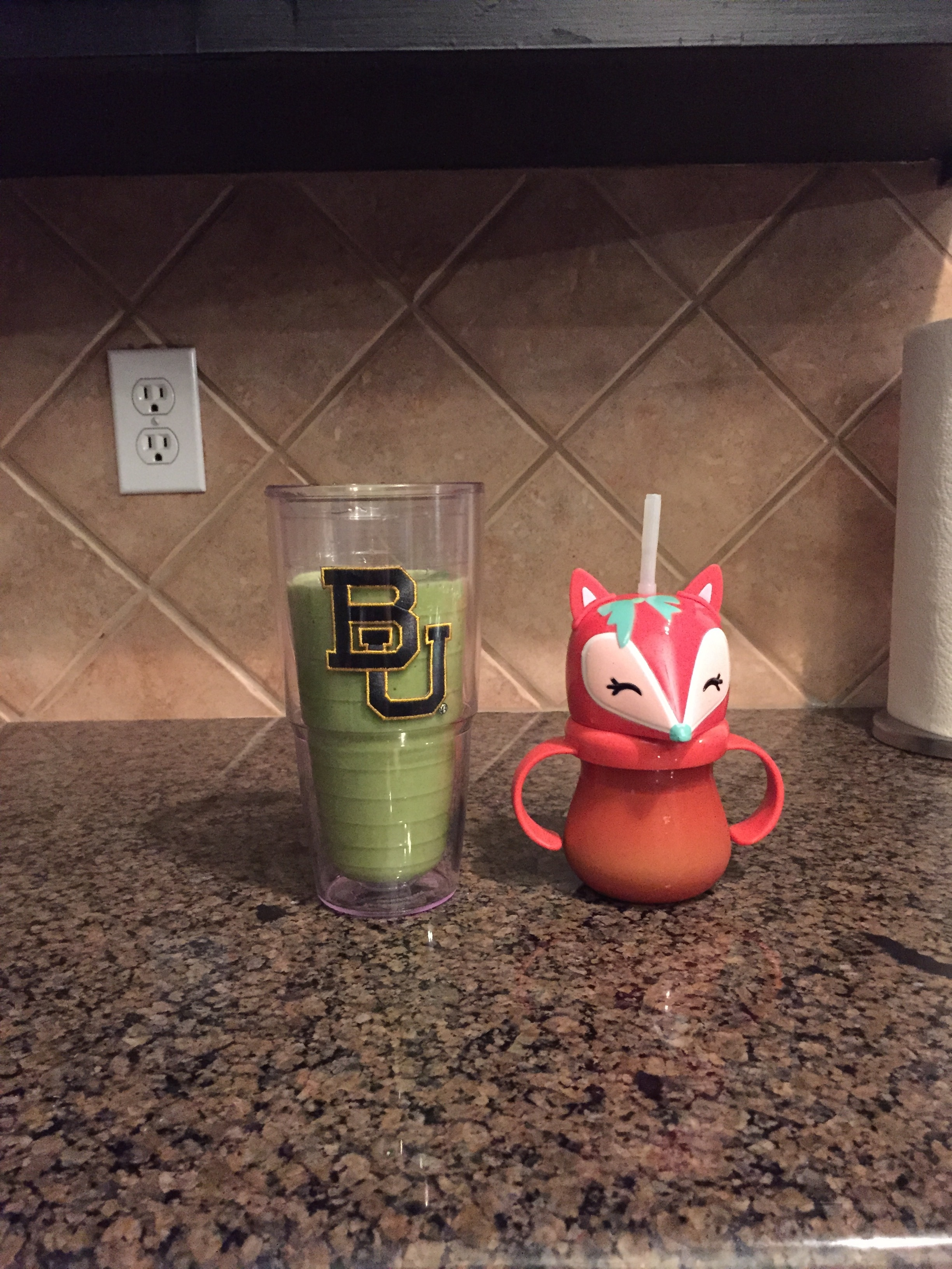 This was the first smoothie picture I ever took in September 2015.