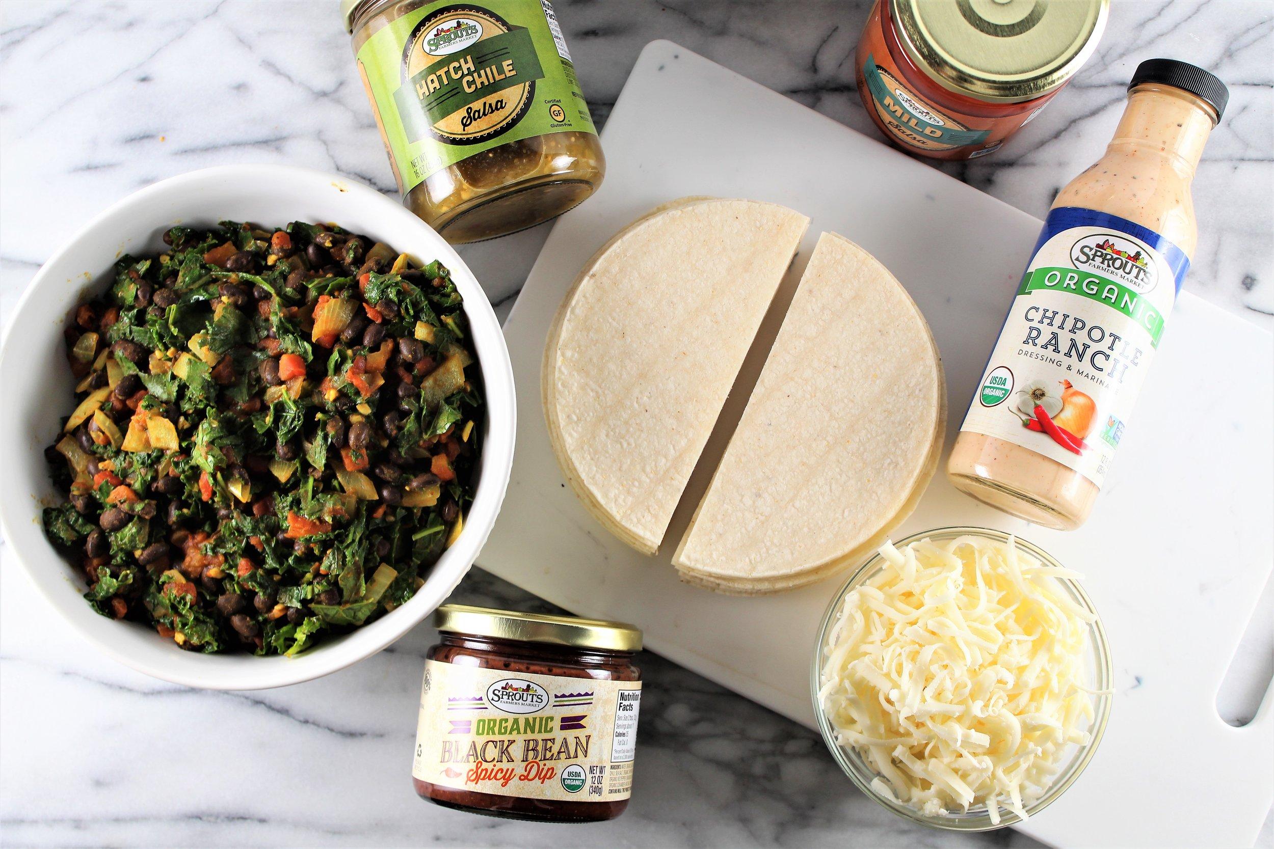 SUPERfood Quesadillas
