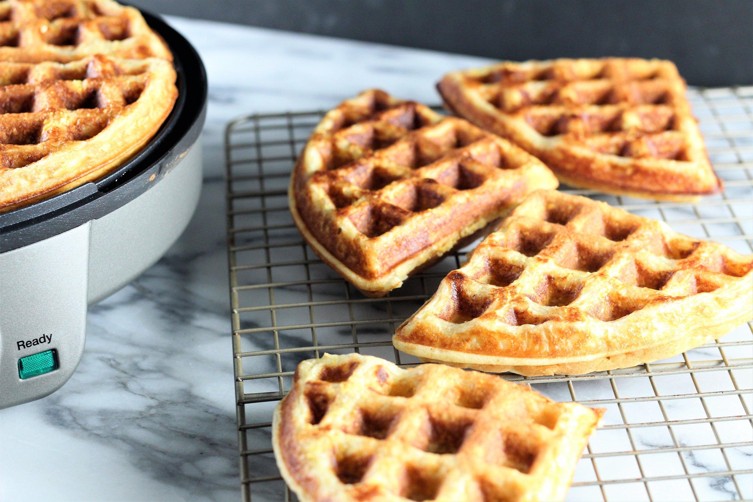 Maple Cornbread Waffles - Click here