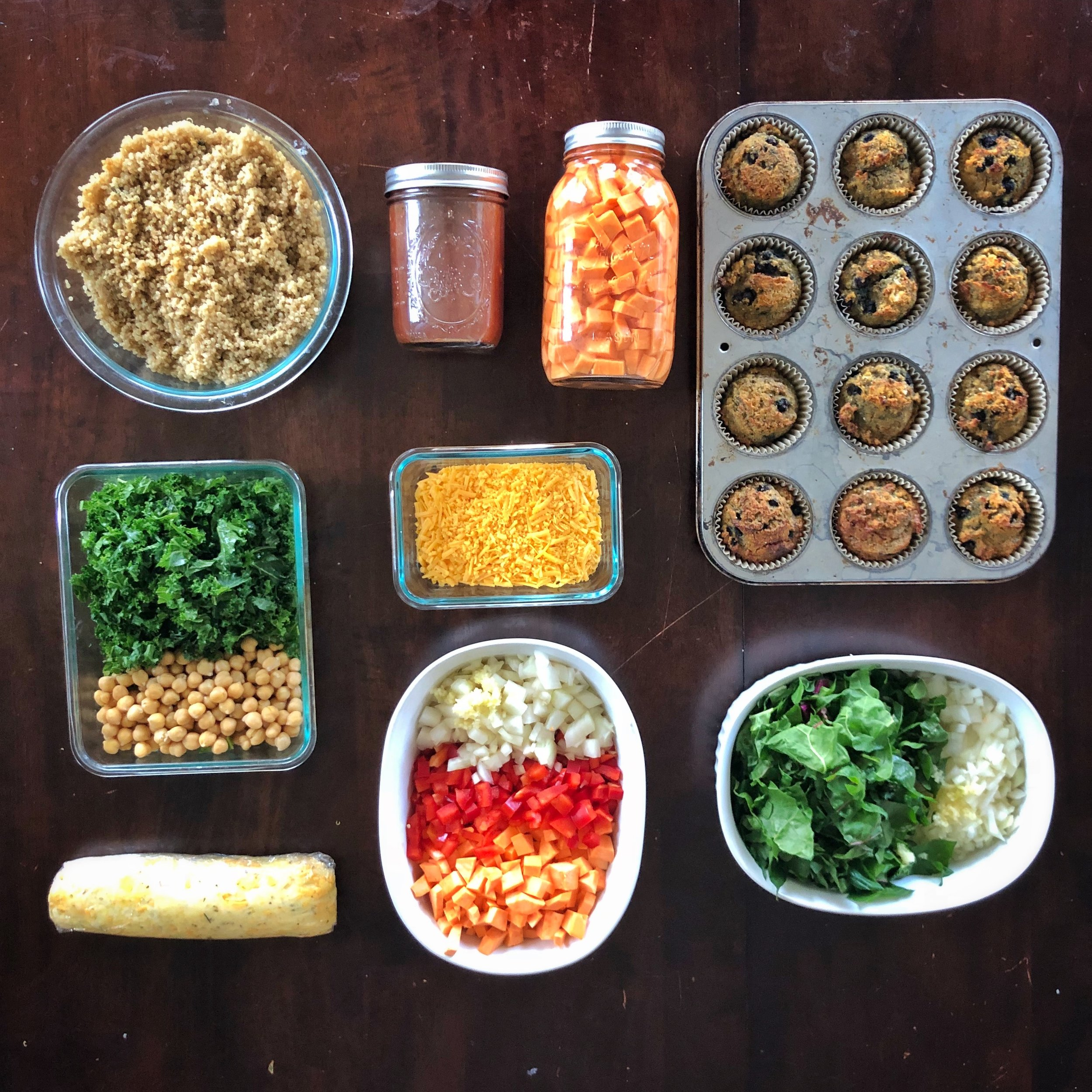 step-by-step 60-minute meal prep game plan
