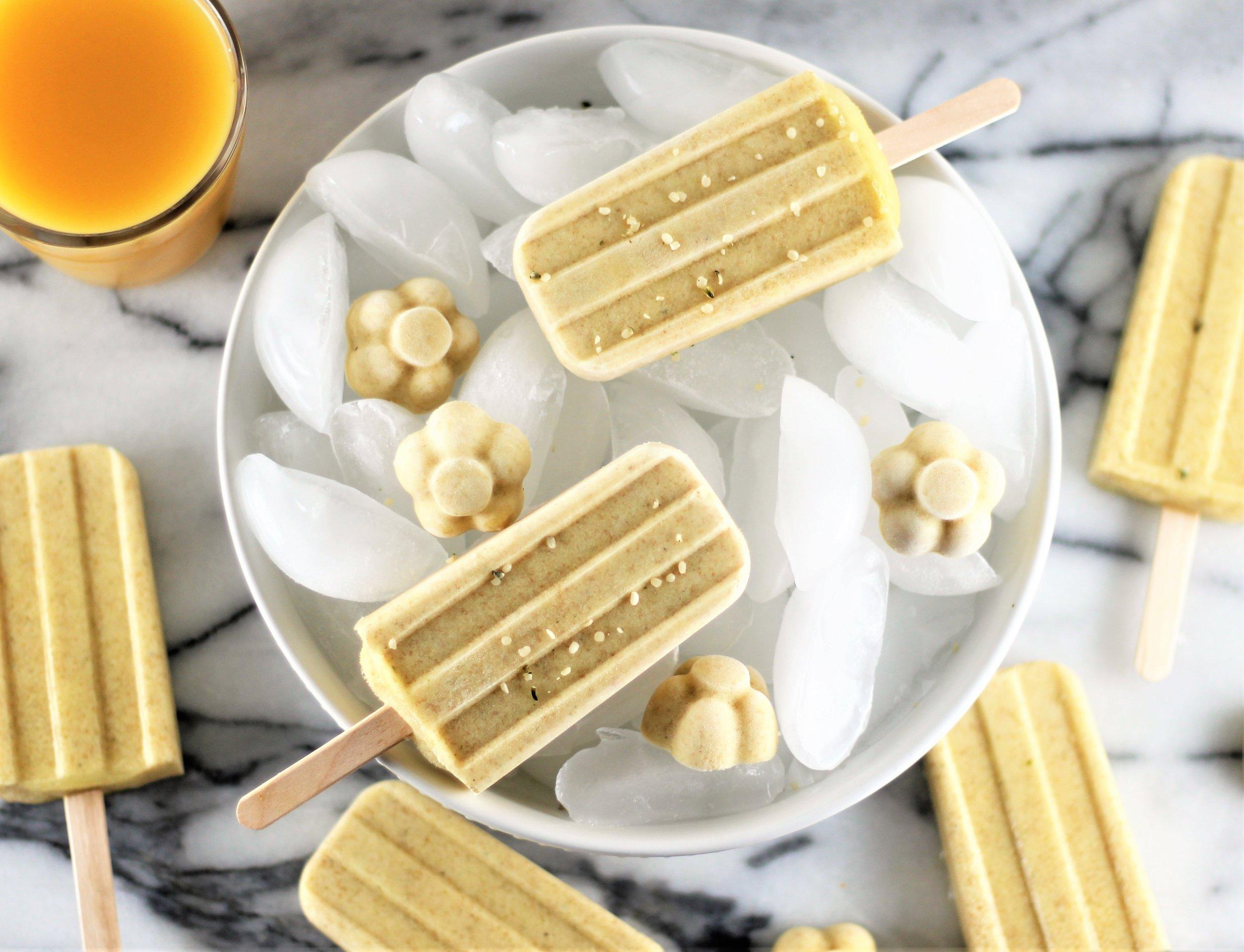 no added sugar orange creamsicles