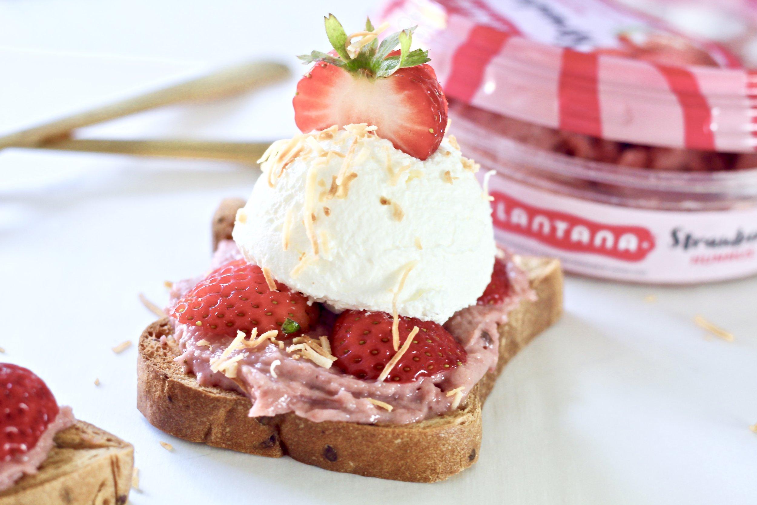 Strawberry Shortcake toast
