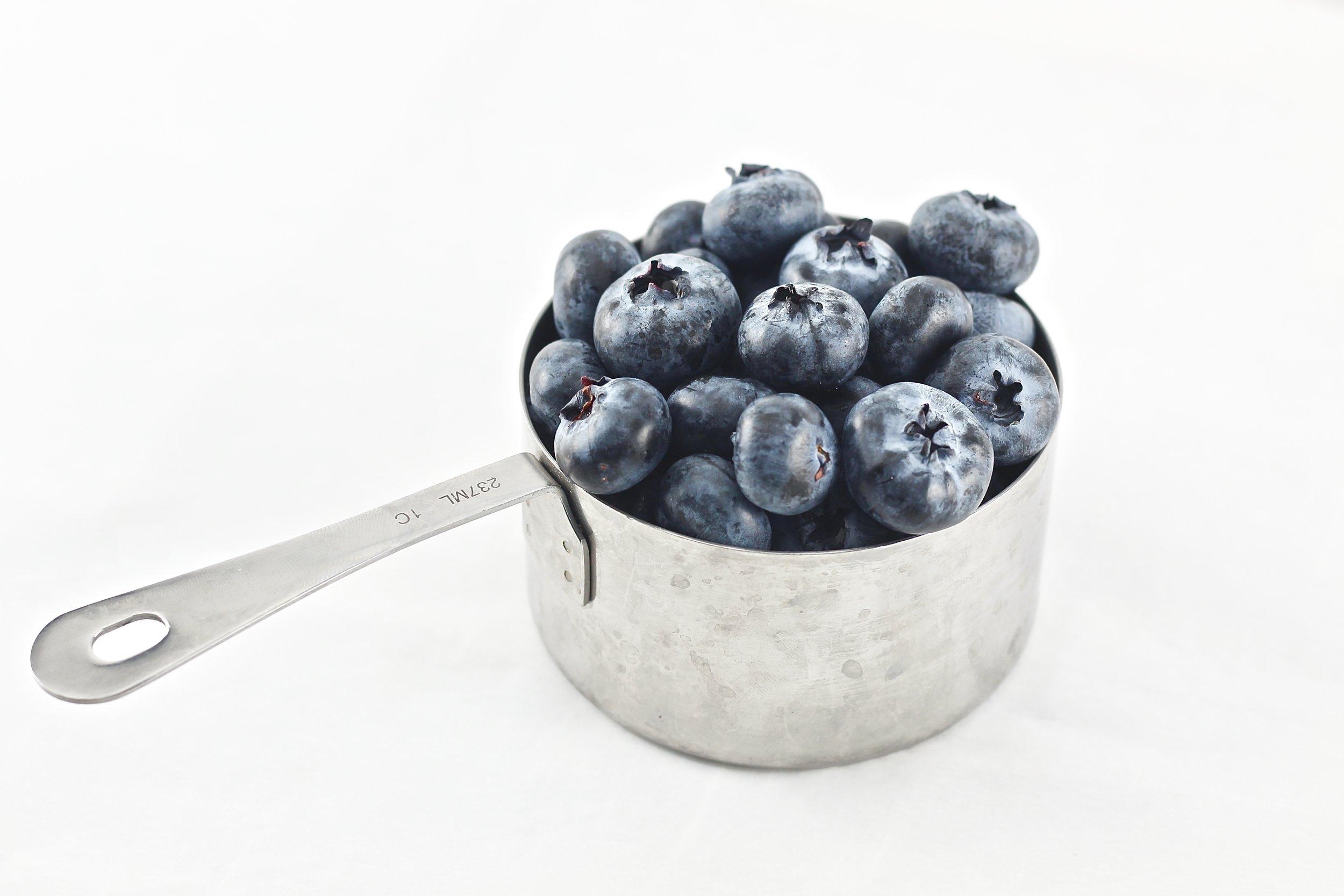Grain Free Blueberry Lemon Breakfast Cookie Skillet