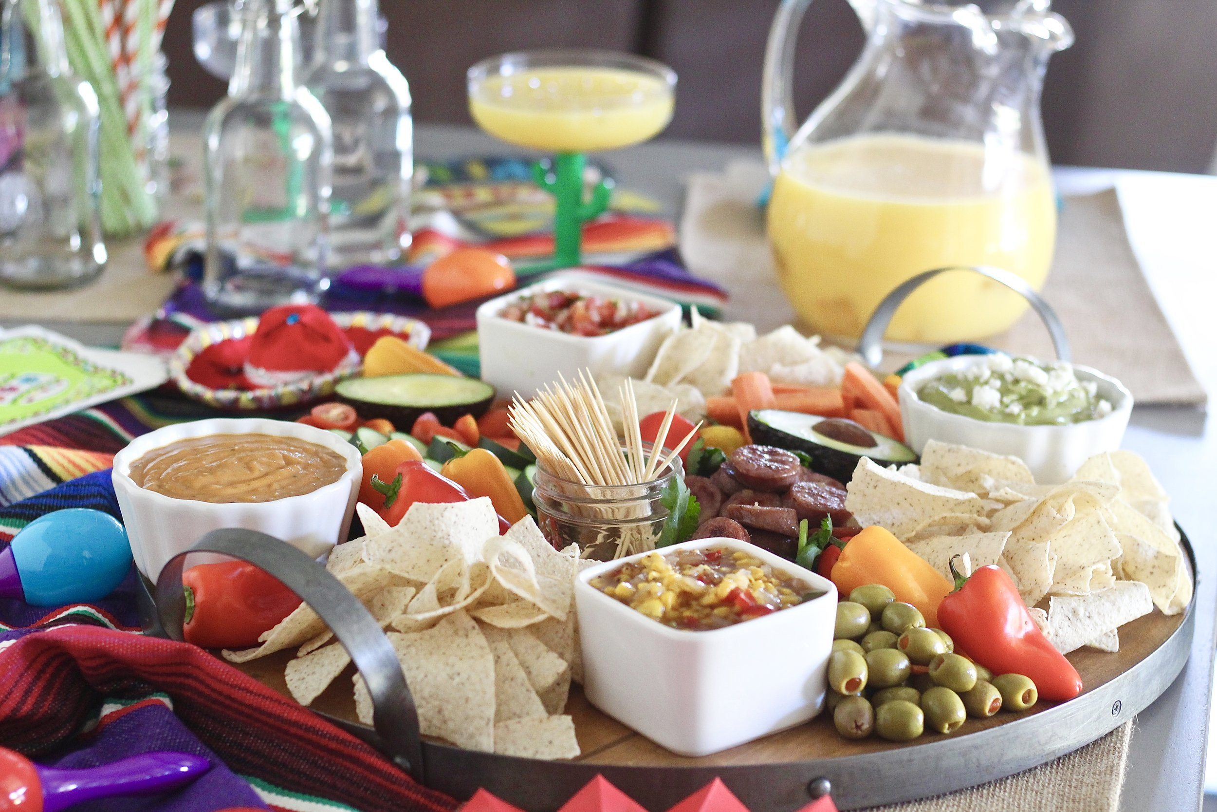 How to host a family friendly Cinco de Mayo Party with no added sugar
