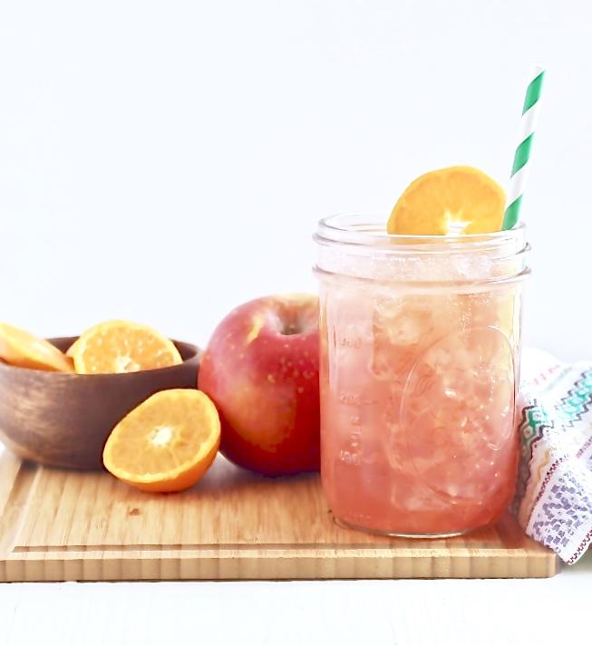 Fruit Punch Sparkler (no added sugar)