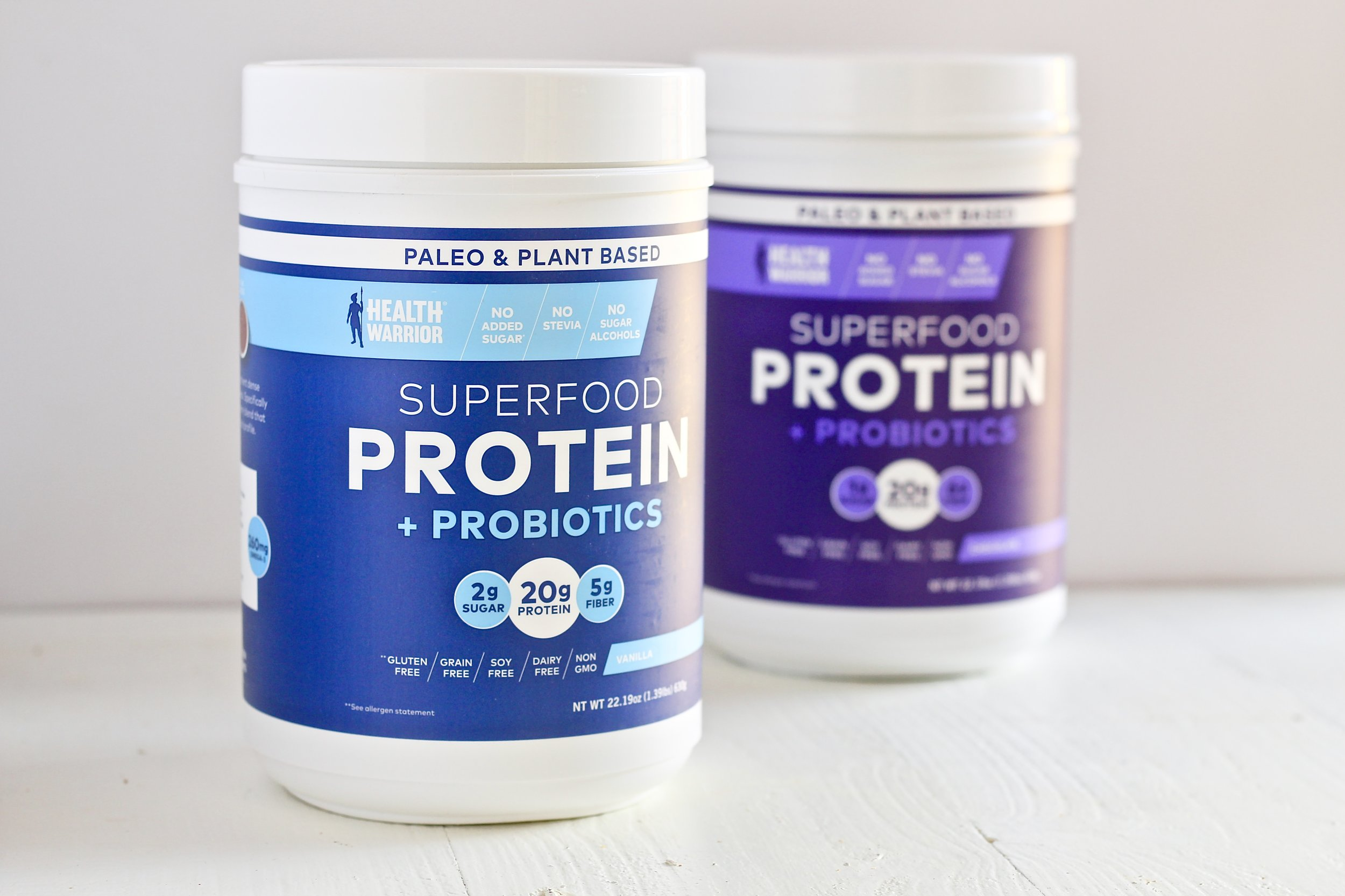 Artificial sweeteners, sugar alcohols, and natural sweeteners: Are they ok and how much can you use?  Health Warrior Superfood protein is lightly sweetened with Monk Fruit Extract.