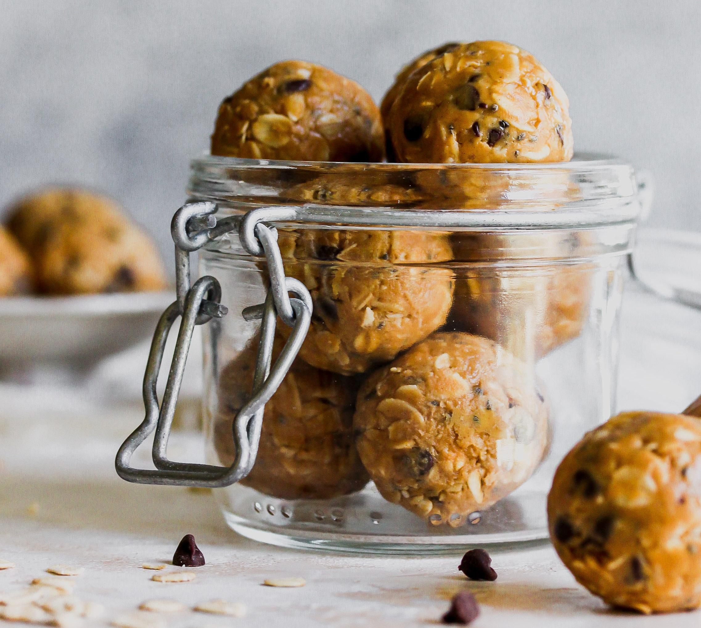 Healthy No-Bake Lunchbox Treats