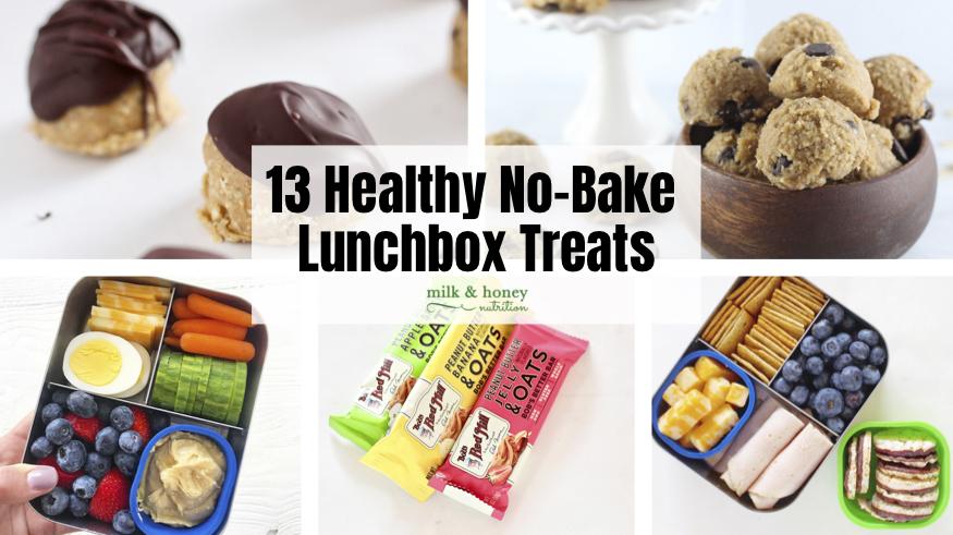 13 Healthy No-Bake Lunchbox Treats