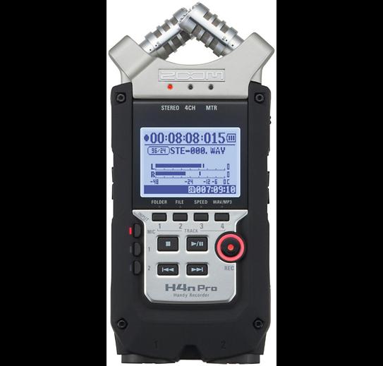 Zoom h4n - Audio Recorder