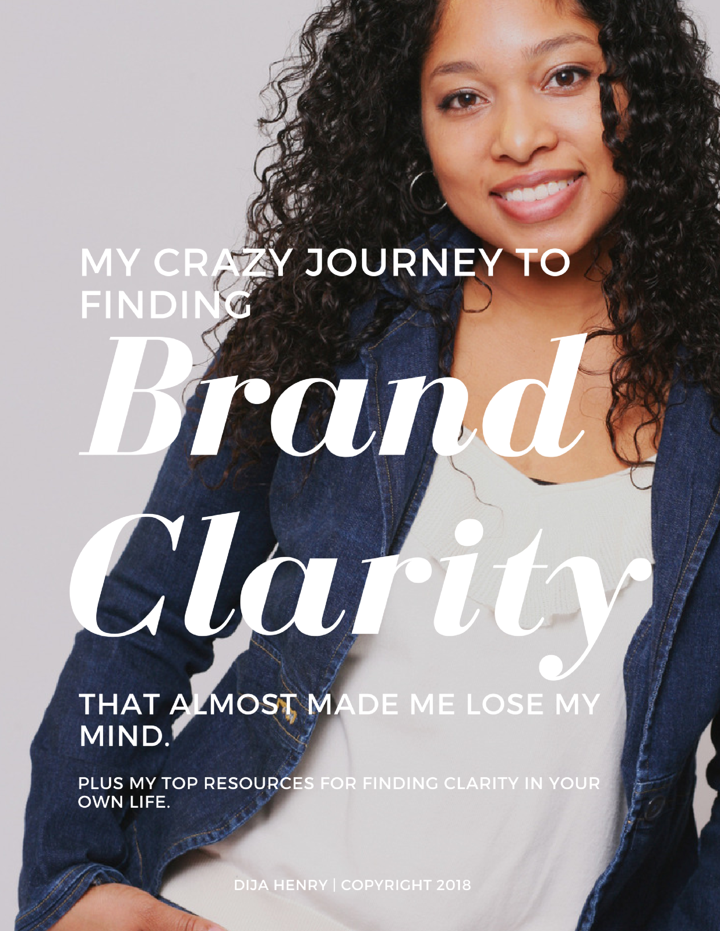 Finding clarity in your personal brand isn't always as simple as many marketers make it. In this little book I share my personal story to finding clarity along with my top resources that helped me a long the way. -