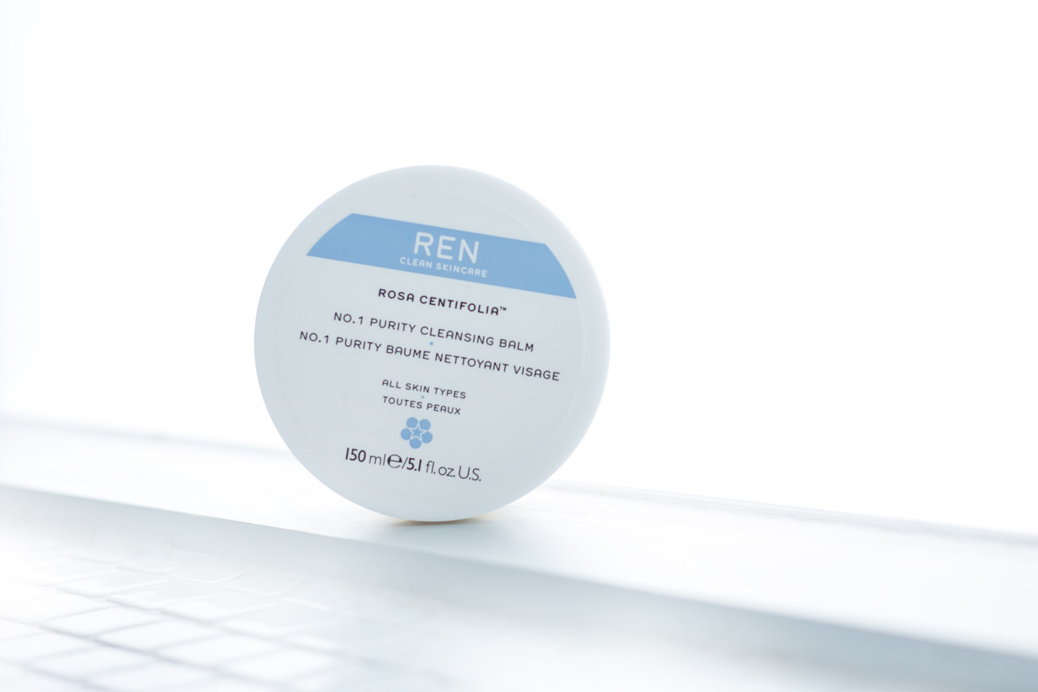 REN SKINCARE'S ROSA CENTIFOLIA  NUMBER 1 PURITY CLEANSING BALM