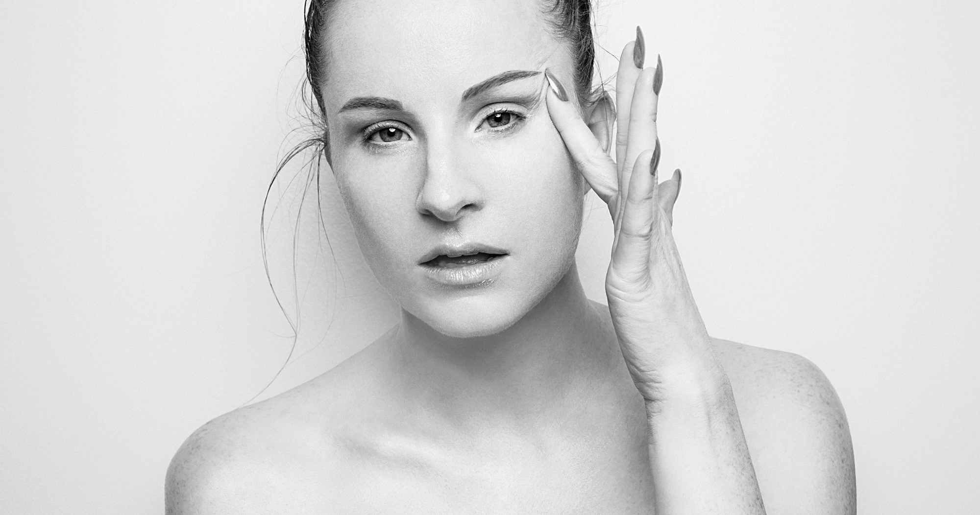 Editorial portrait created for  Jennifer Joan Skincare  - based out of Calgary Alberta Canada.