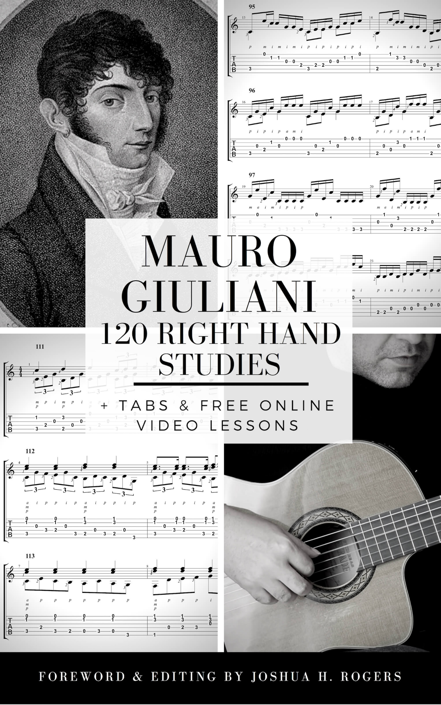 Mauro Giluliani 120 Right-Hand Exercises e-Book