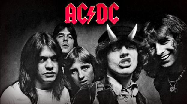 AC/DC Group Shot
