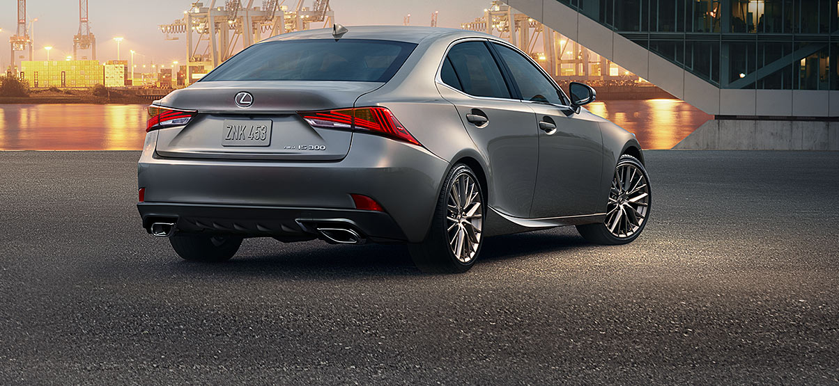 grey lexus rear.jpg