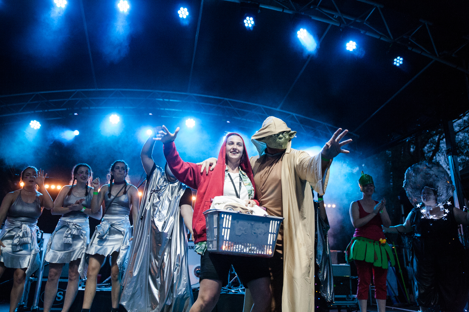 Winners of Space Oddity themed fashion