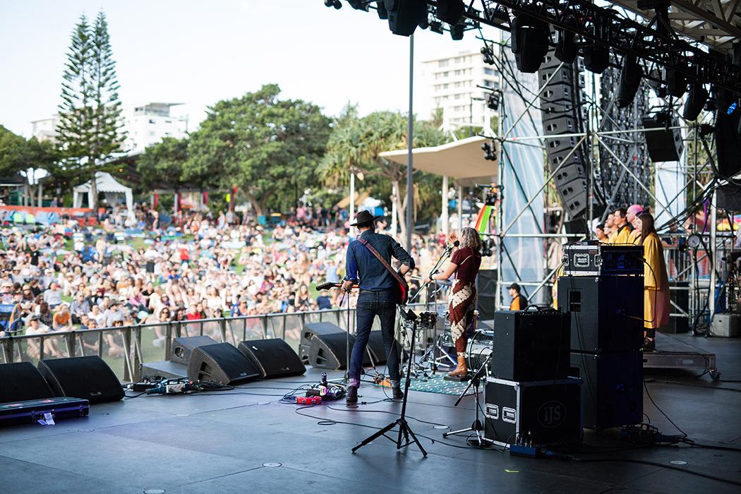 Mama Kin Spender, Caloundra Music Festival 2018.
