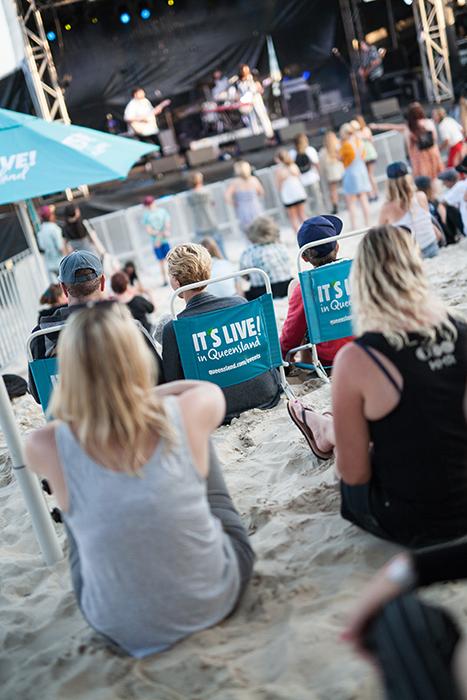 Caloundra Music Festival crowd