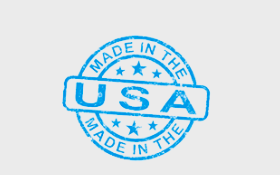 Our products are Made in the U.S.A. -