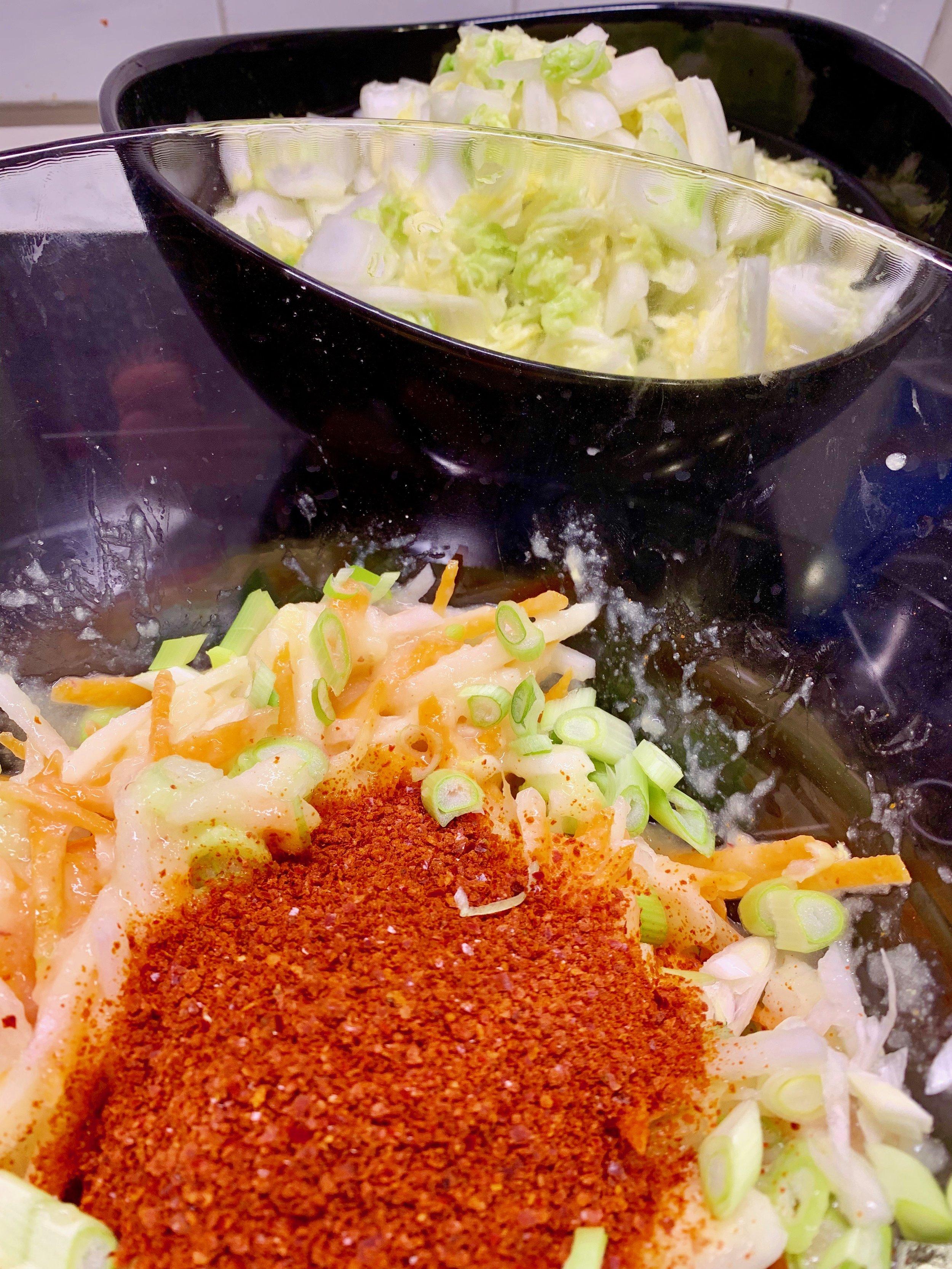 Jeg bruker koreansk gochugaru i kimchi.