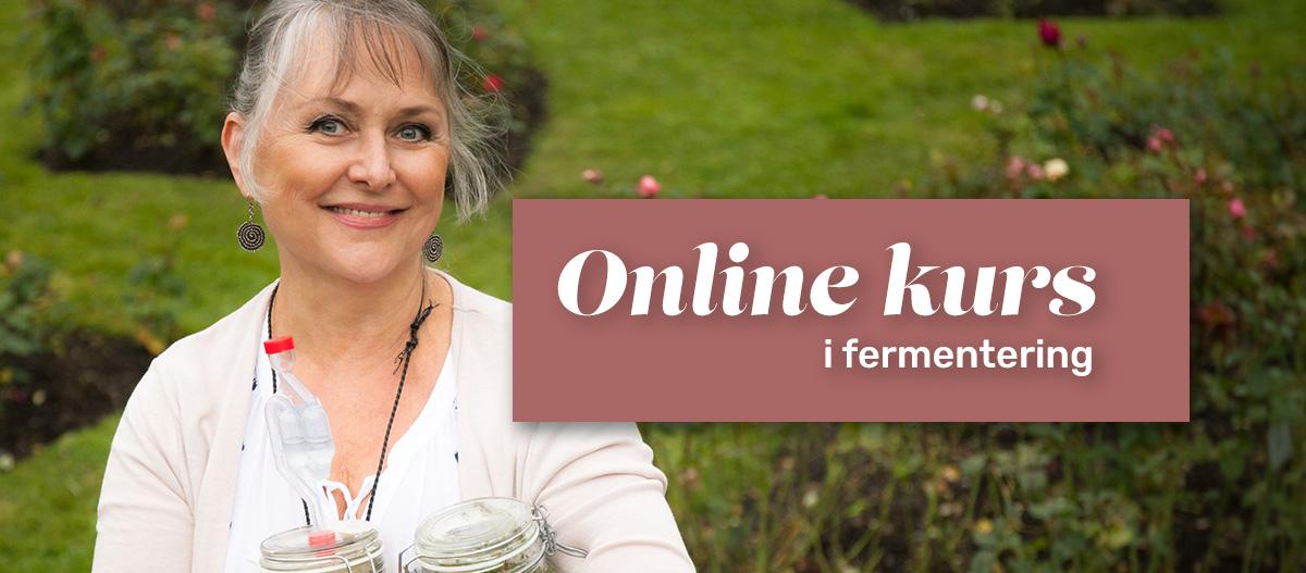Online kurs i fermentering er her! Lær deg å fermentere - enkelt som bare det.     Se mine kurstilbud her.
