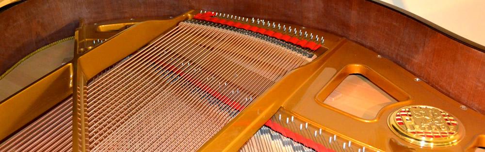 Stoke Pianos Restringing