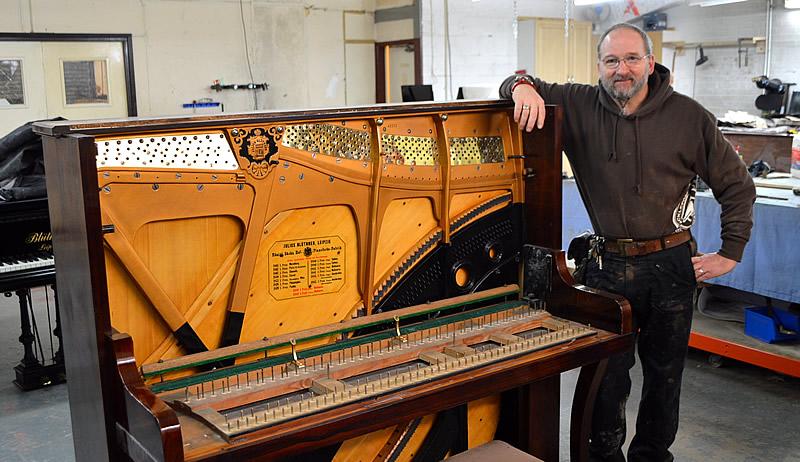 Stoke Pianos Andy Mayo
