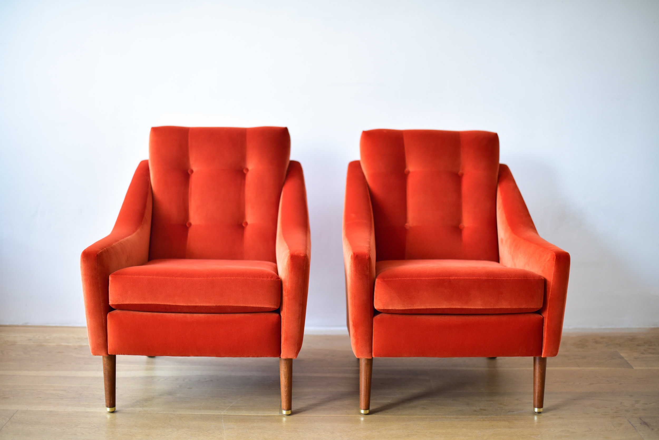 Greaves & Thomas Armchairs