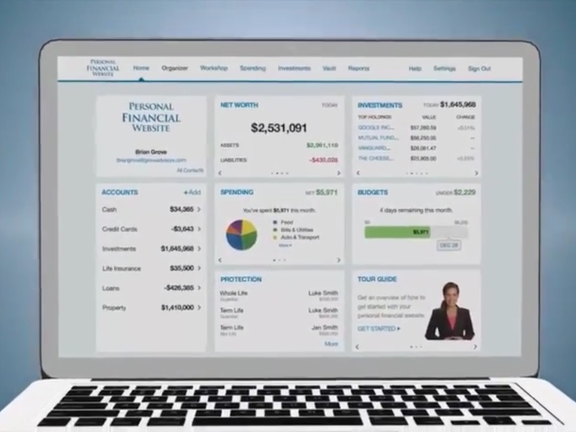 WealthTrack - our financial planning app - Explore the features of Heron Wealth's financial planning app