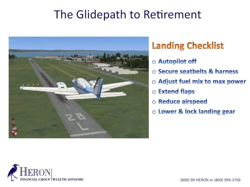 Five items from the Heron Wealth retirement checklist - What do