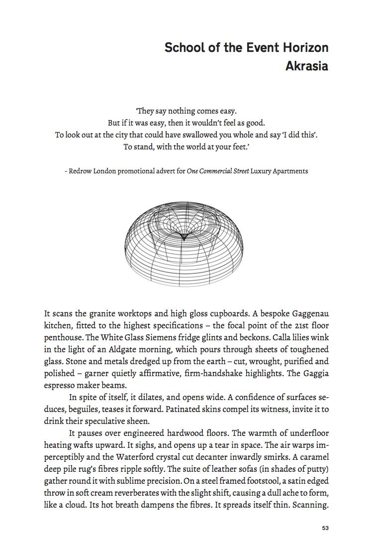 Akrasia School of the Event Horizon