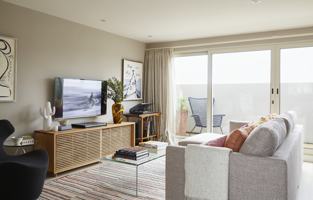 Contemporary Living Room | Parsons Green Interior Design Project