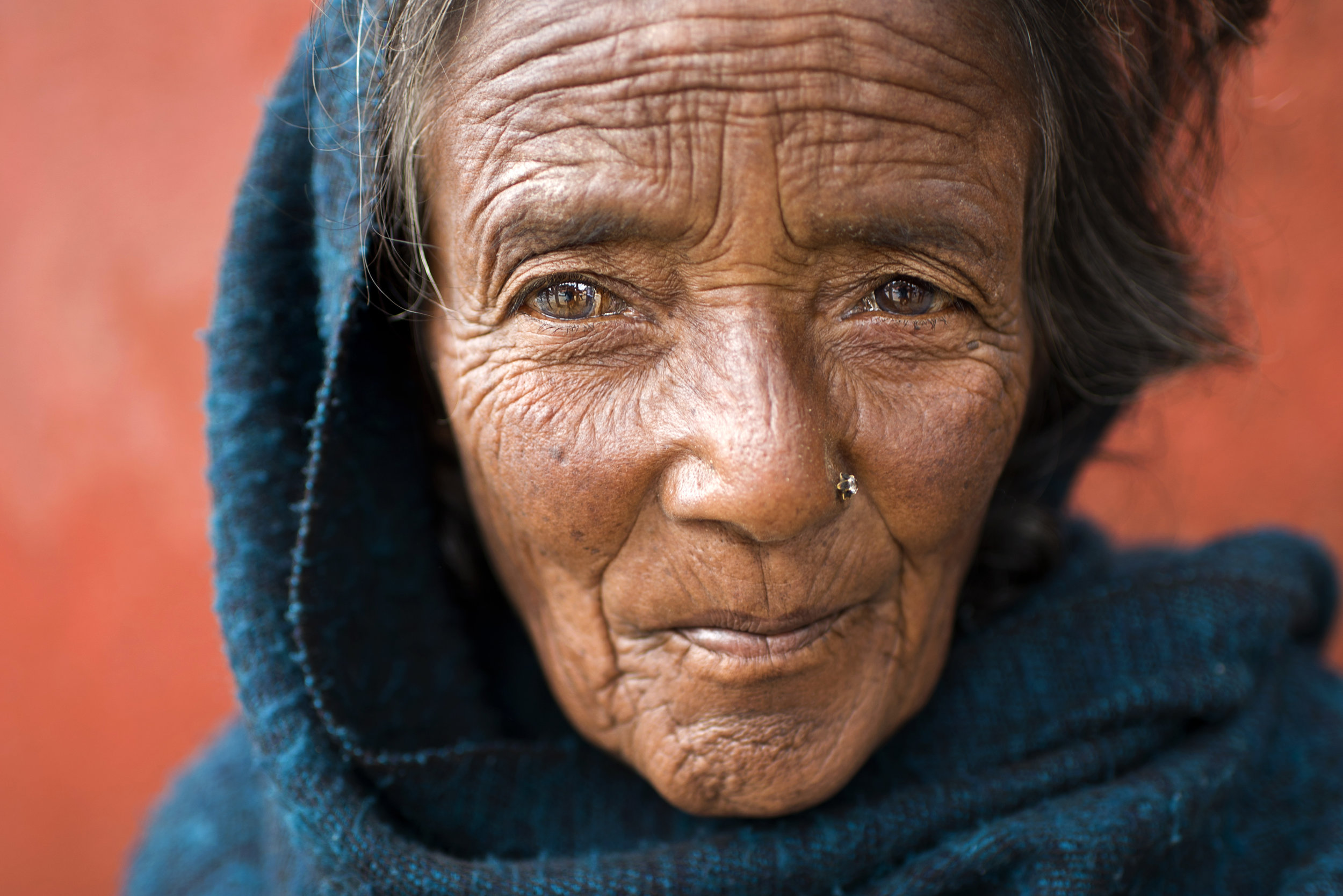 Nepal Street Portrait