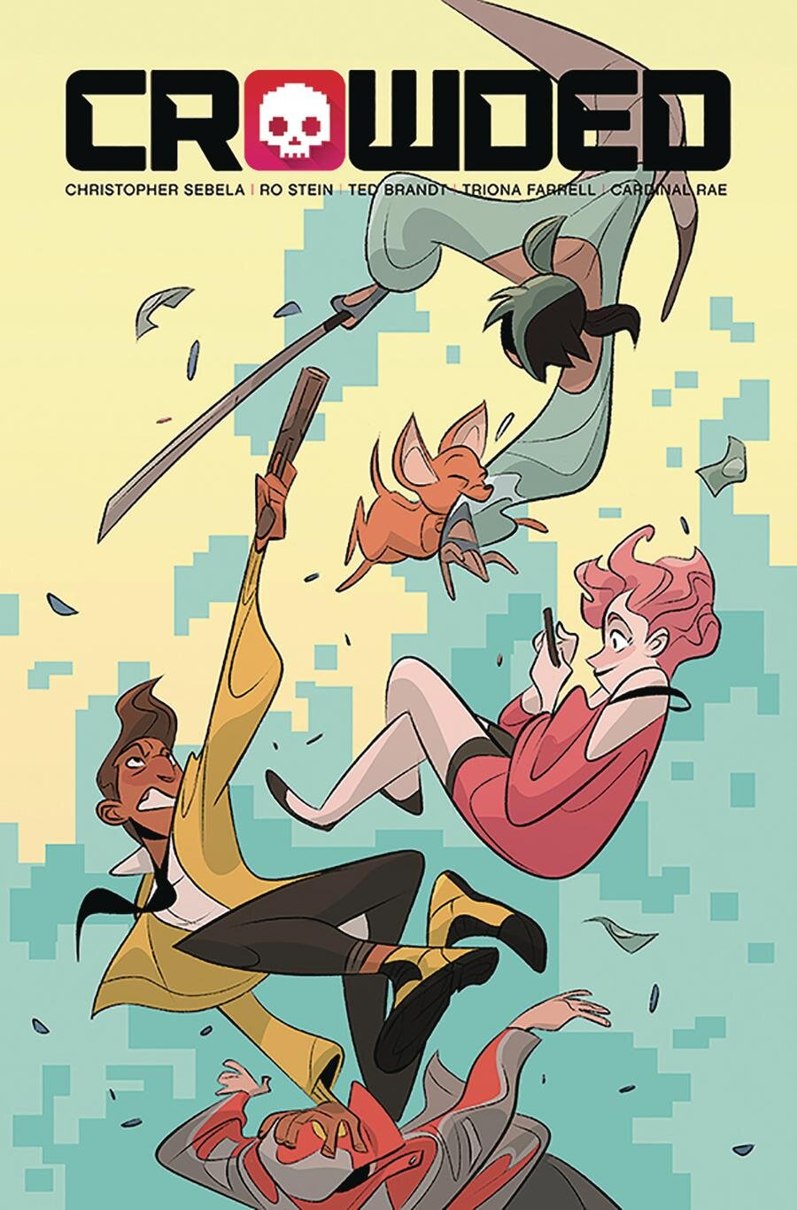 CROWDED #7 Variant Cover