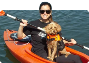 Mollie George   Born and raised in Indianapolis, Indiana, Mollie leads an active life hiking, swimming and kayaking with her dog. She loves to travel to distant locations and is currently stationed in Australia, the land down under.