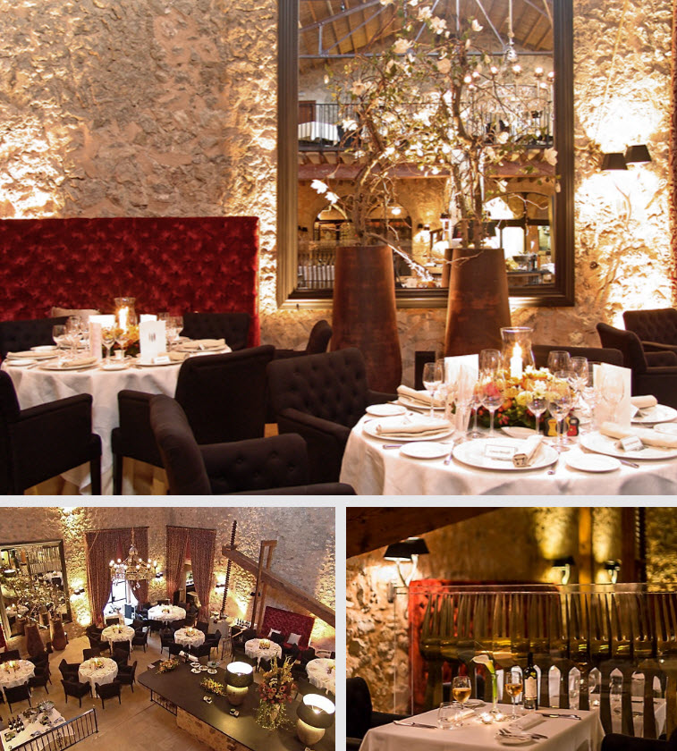 Guests can immerse themselves in an elegant distinctive setting at Oleum.