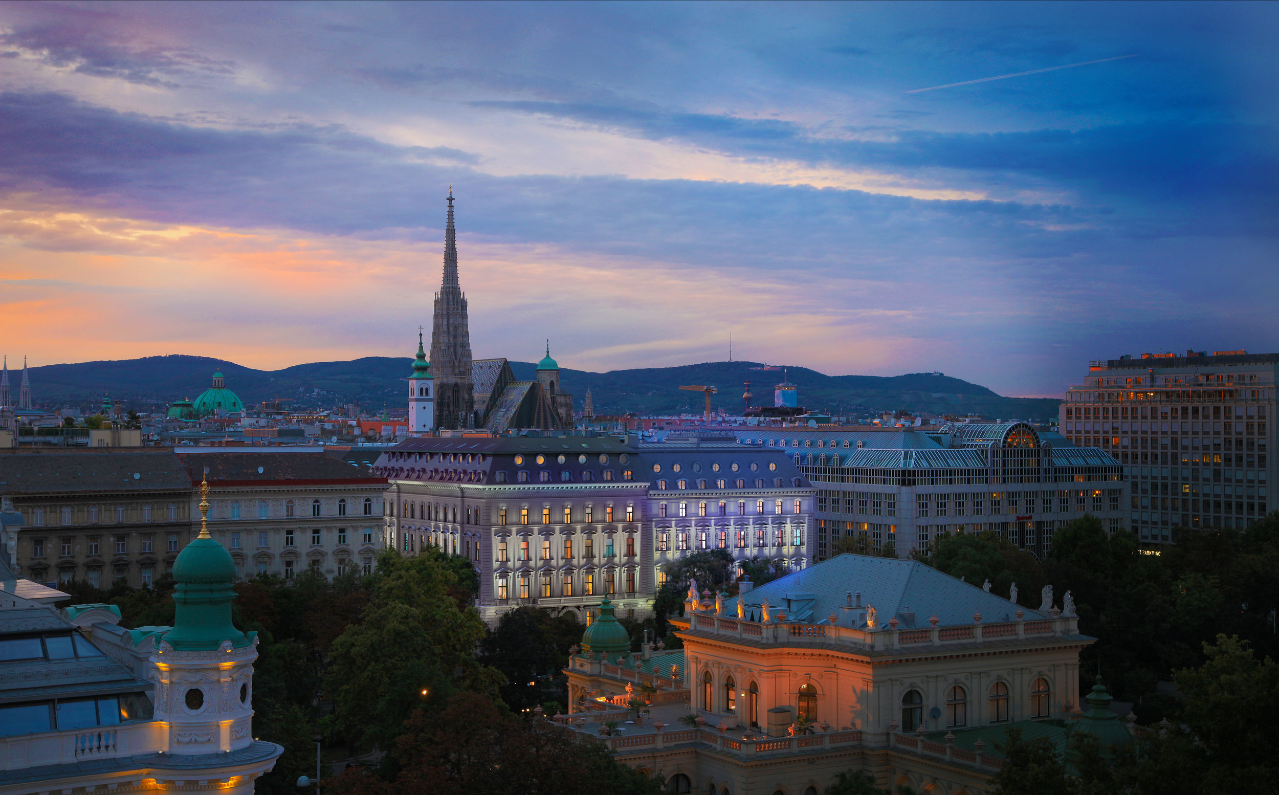 Set in this historic center of Vienna