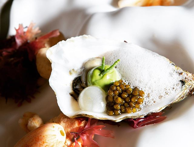 A taste of the sea @ferapalma from Chef @5imonap