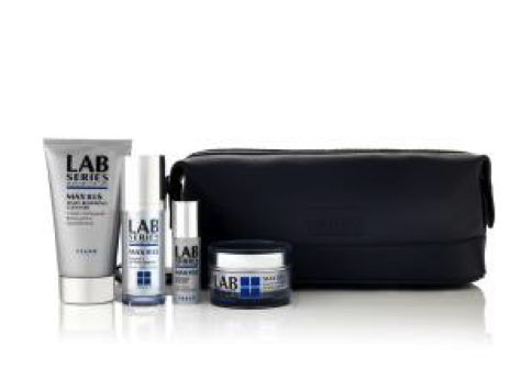 MAX LS Skincare gift set (as pictured): £79.00 (Lab Series) / £79.00 (House of Fraser).