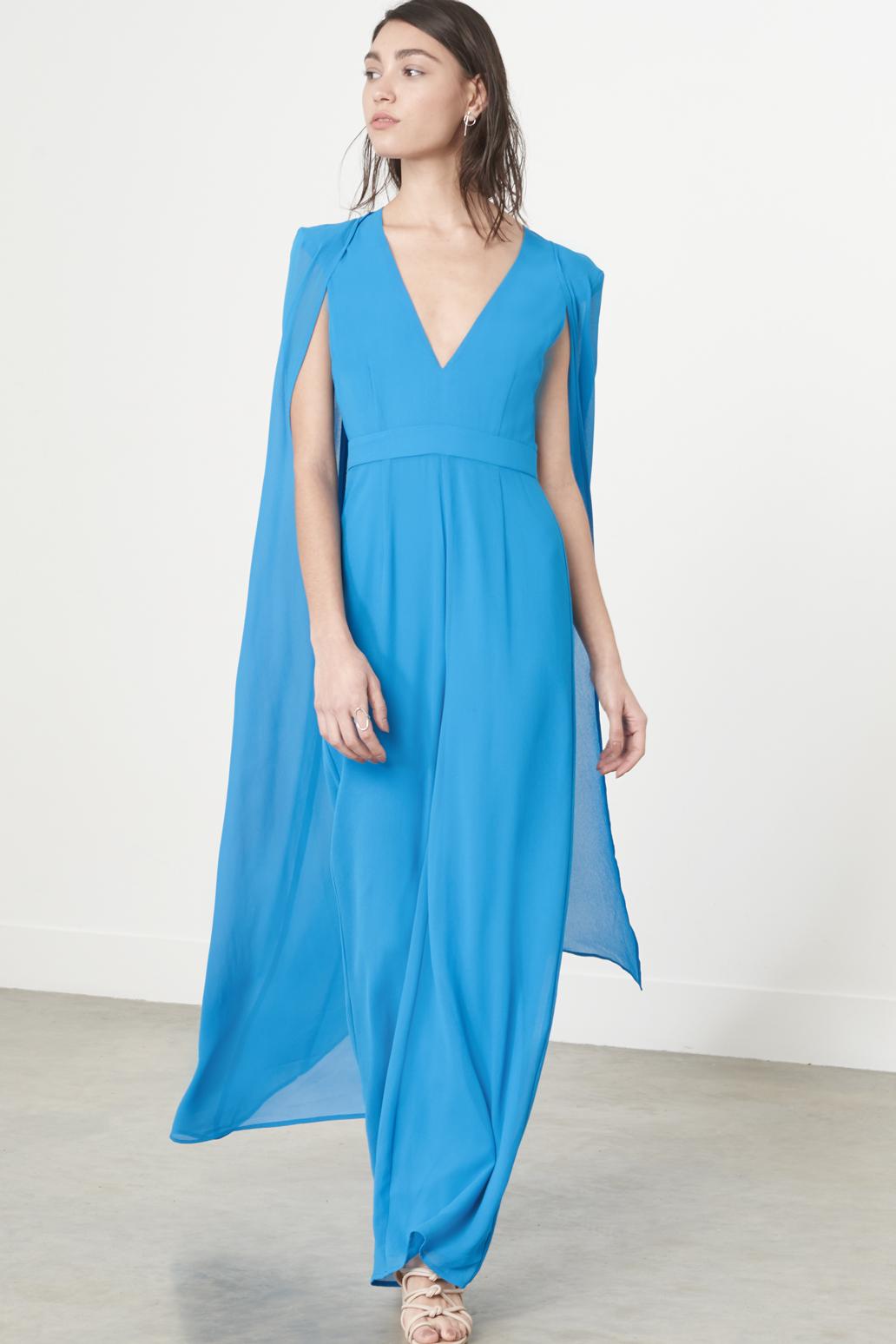 Cereulean chiffon cape jumpsuit, £84 @ Narah & Co.jpg