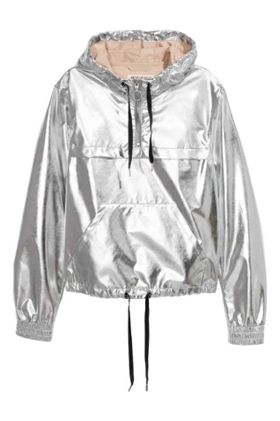 H&M Shimmering metallic jacket £29.99