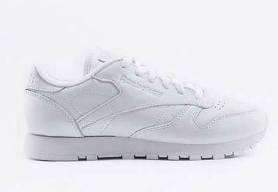 Reebok Classic White Pearl Leather  Trainers £65