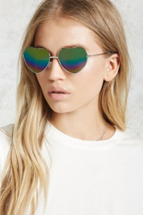 Forever 21 Heart shaped sunglasses  £6